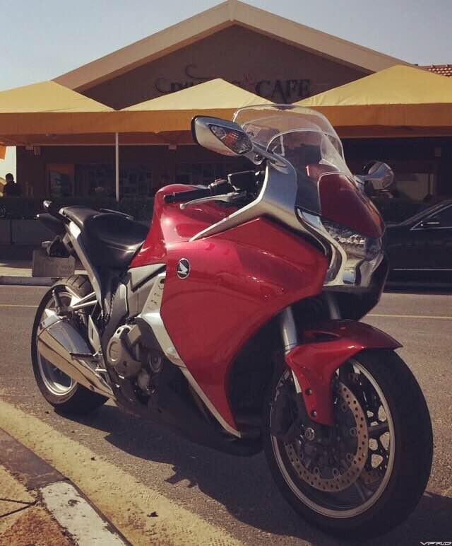 VFR1200 Bikers Cafe, Dubai UAE