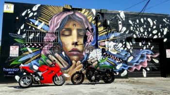 Honda VFR Wynwood Walls Miami