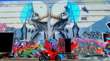 Honda VFR Wynwood Walls Miami FL