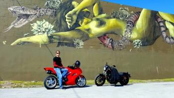 Honda VFR Wynwood Walls snake girl graffiti   Copy