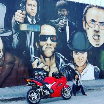Honda VFR Wynwood Walls movie theme graffiti   Copy