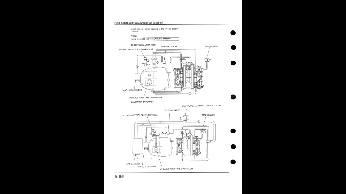 Vfr800f 2000 But Seems To Be A 99 Fifth Generation Vfrs Vfr 750 1995 Fuel Tank Diagram Vfr1