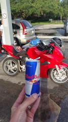 Red Bull may give you wings, but the VFR lets you FLY