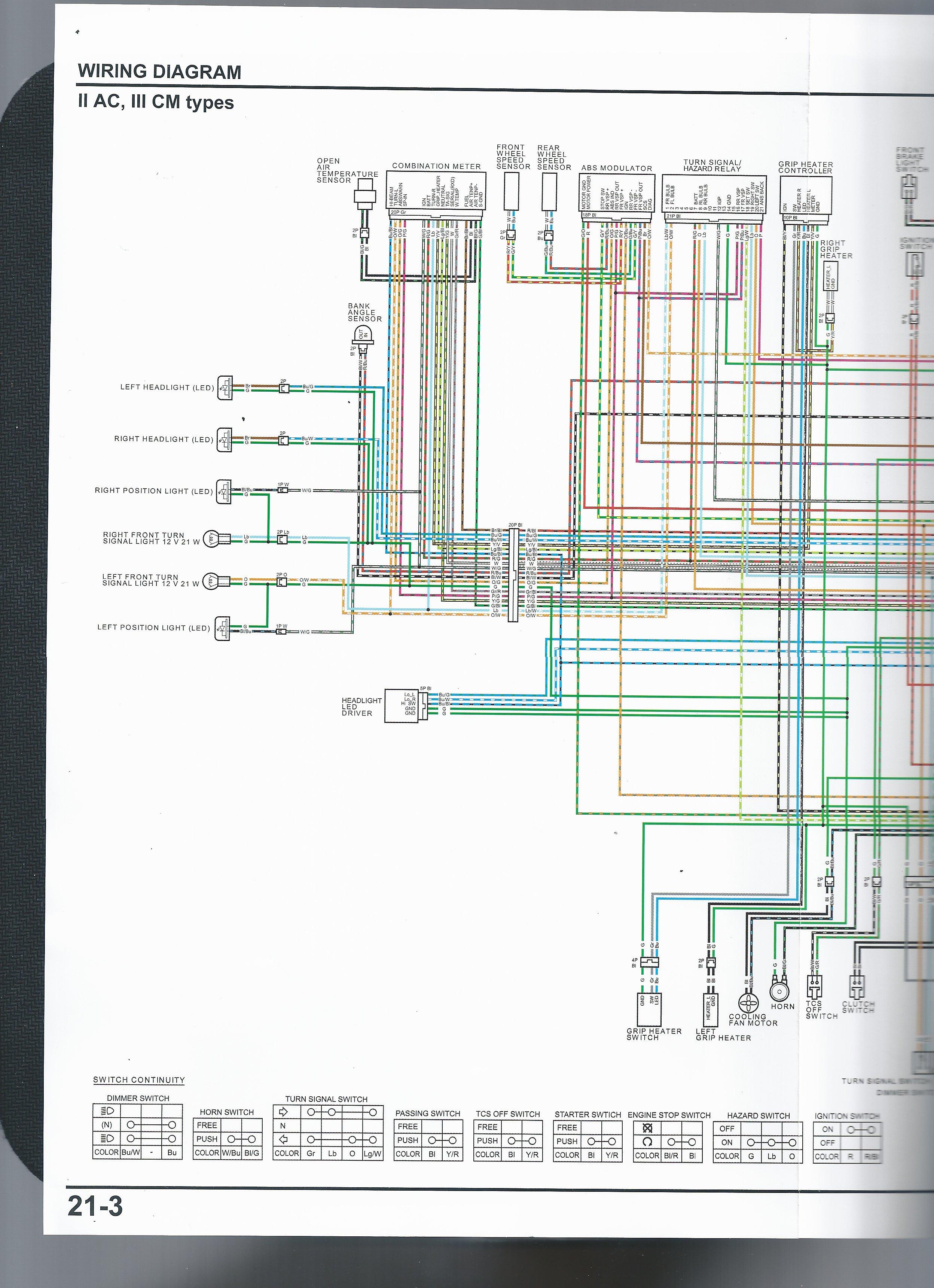 Wiring Diagram Honda Vfr 400 - Wiring Diagram Show on
