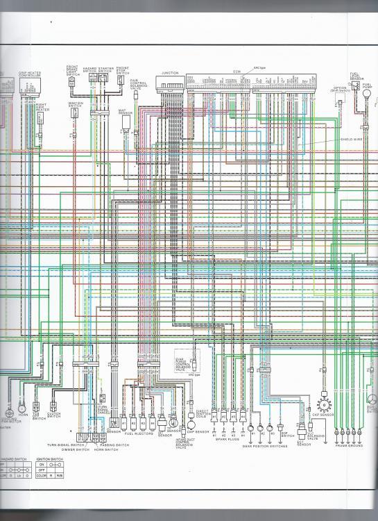 Wiring       Diagram     Eighth Generation VFR s  VFRDiscussion