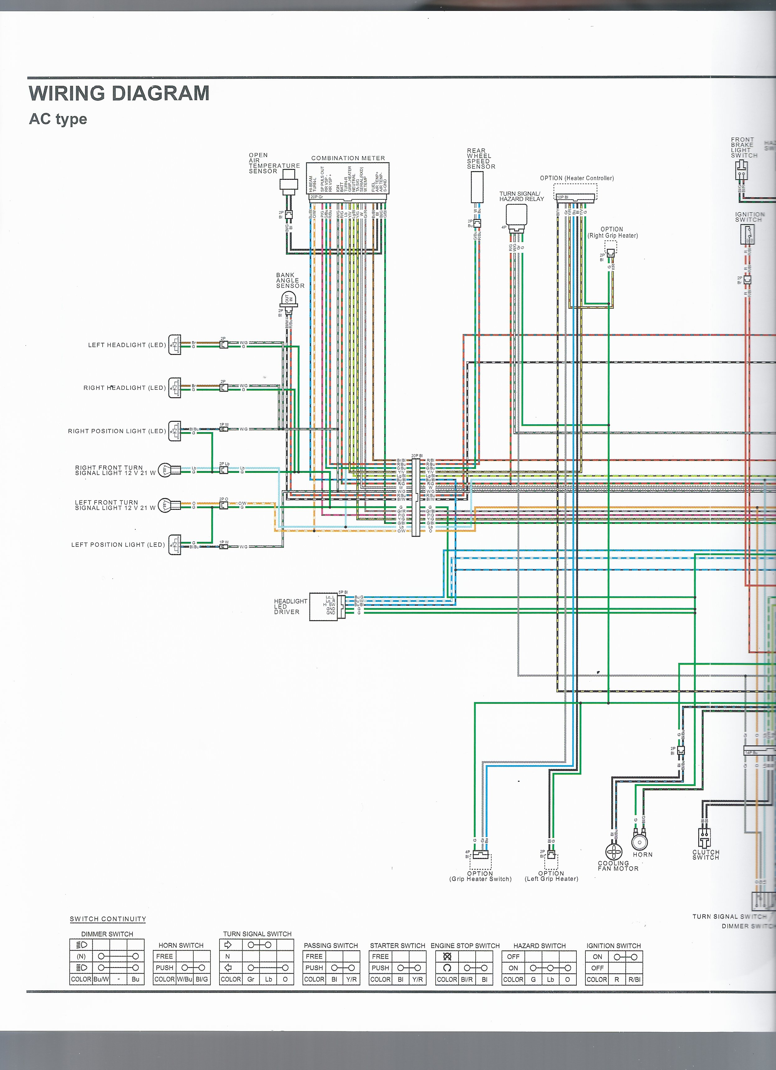 Honda Vfr Wiring Diagram Library Gl1200 Starter Schematic Ac Type 1 Of 3