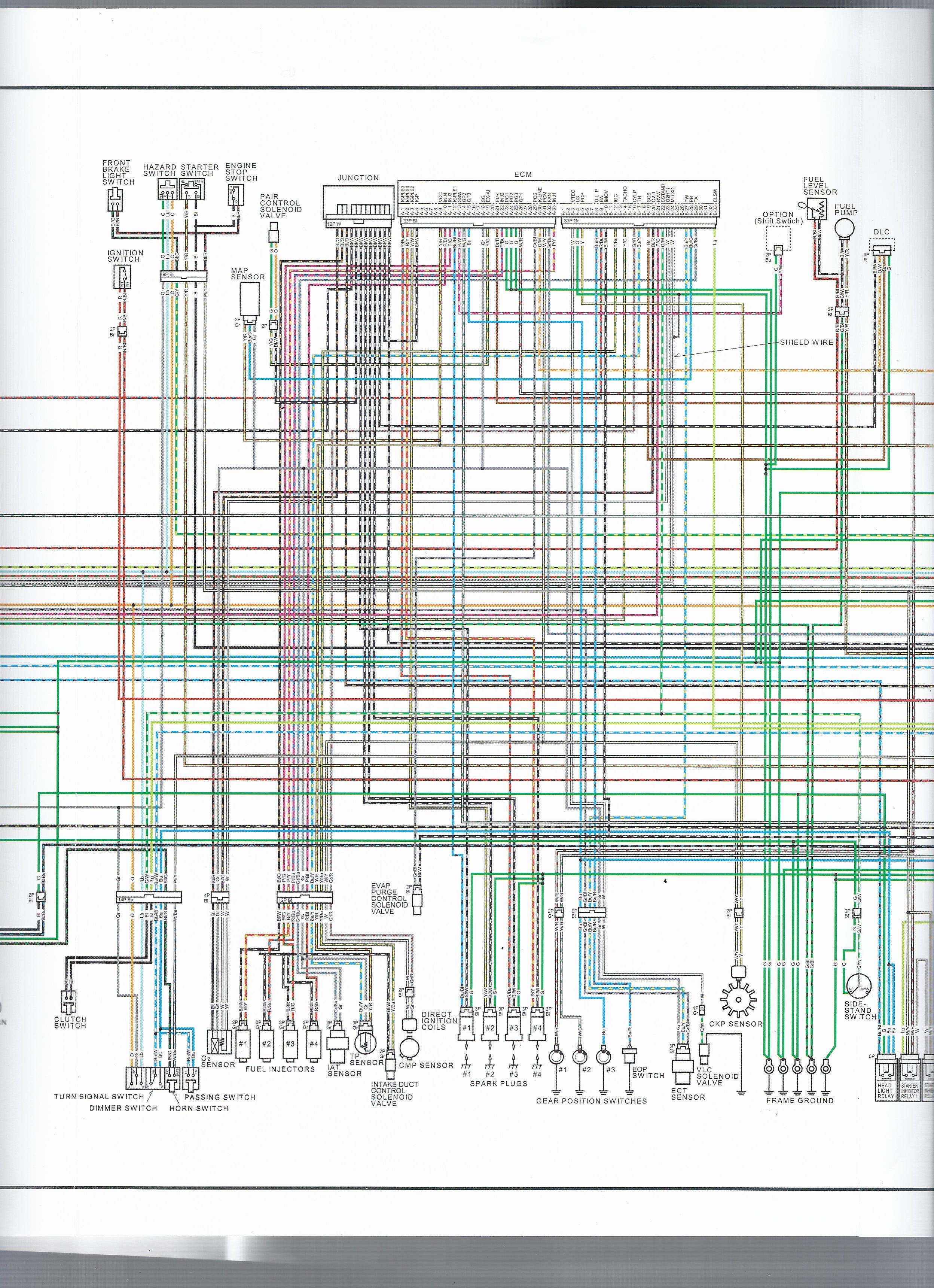 Wiring Diagram - Eighth Generation VFR\'s - VFRDiscussion