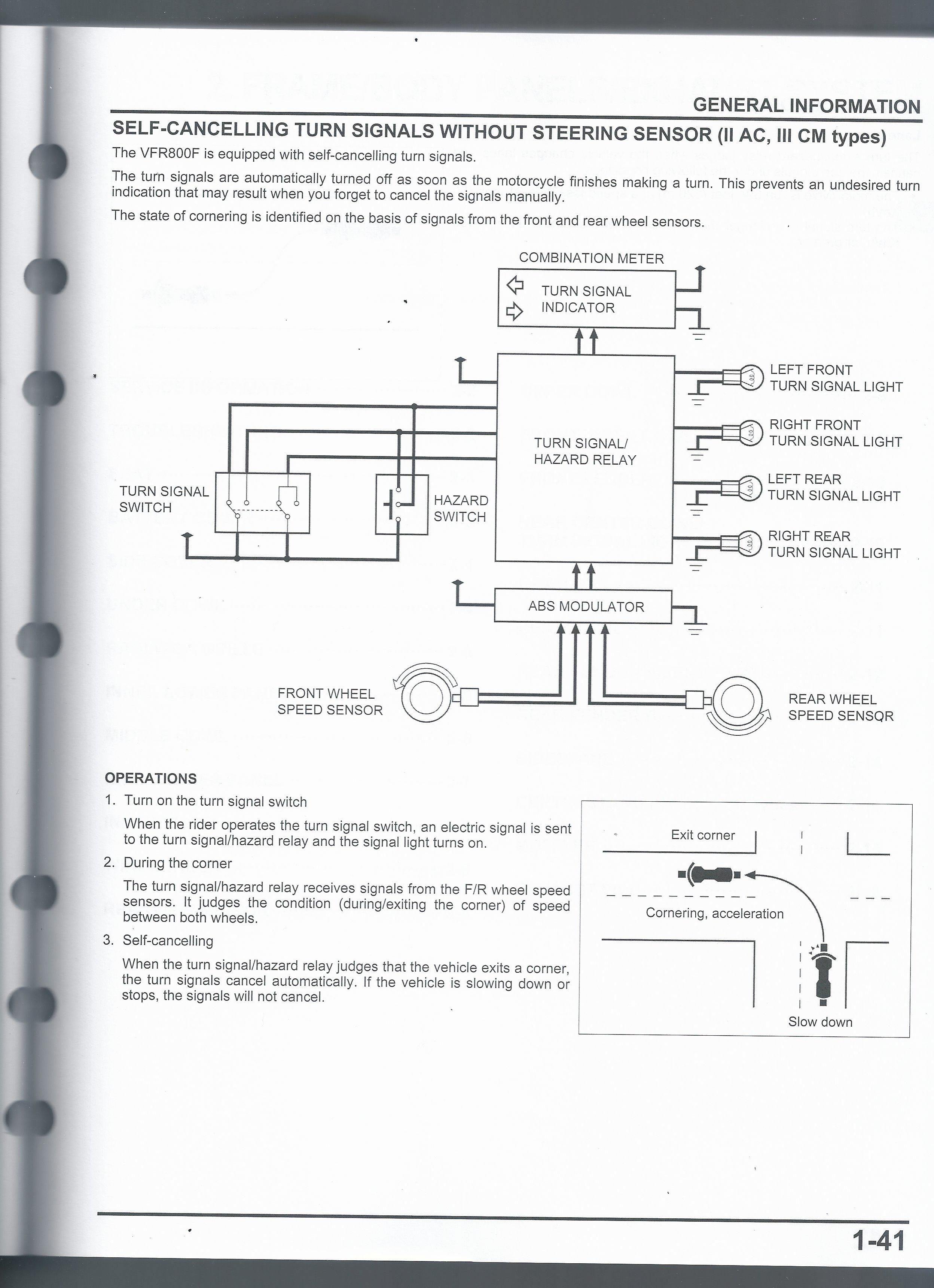 Wiring Diagram - Eighth Generation Vfr U0026 39 S
