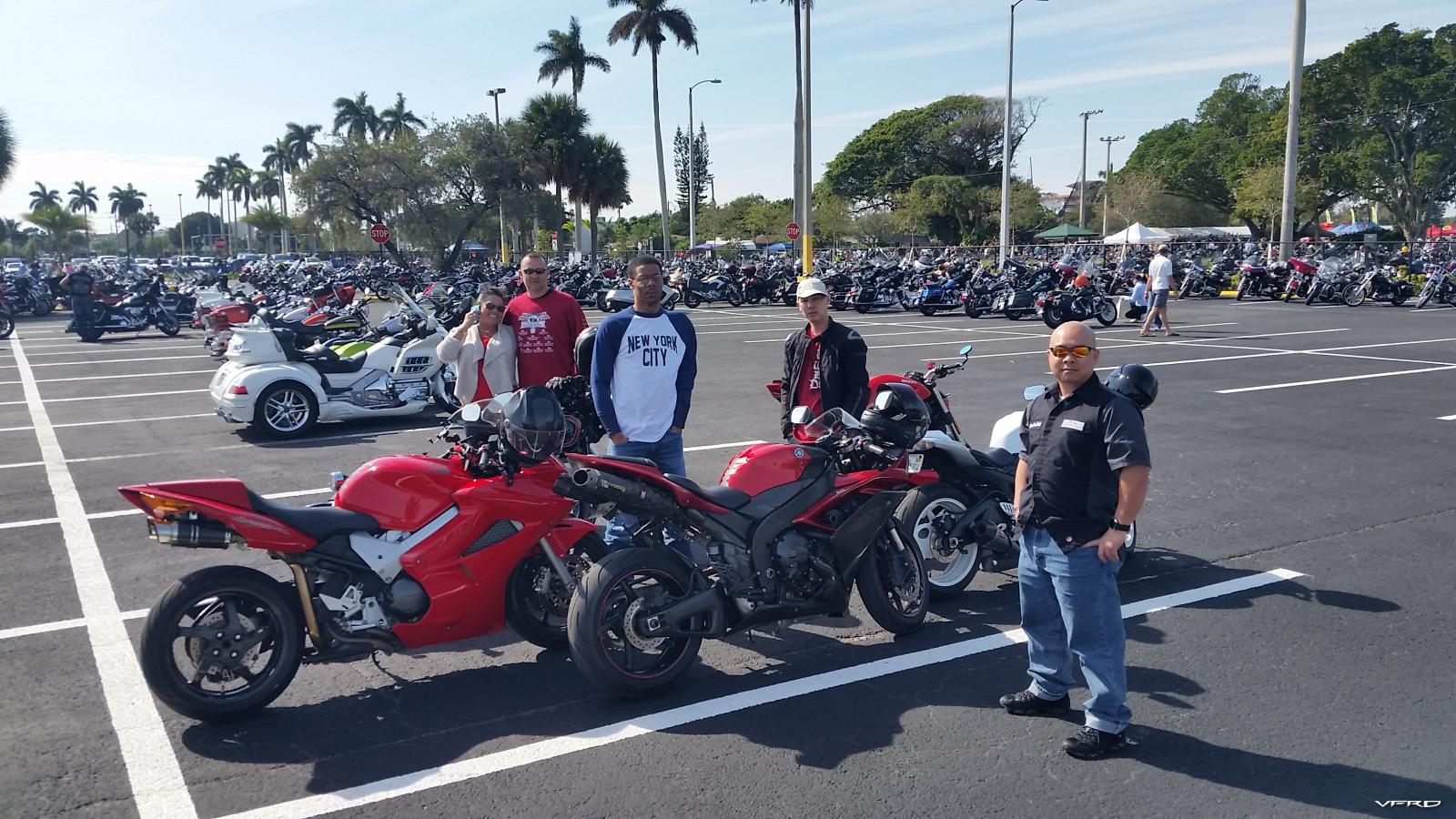 Dania Beach Vintage Motorcycle Show