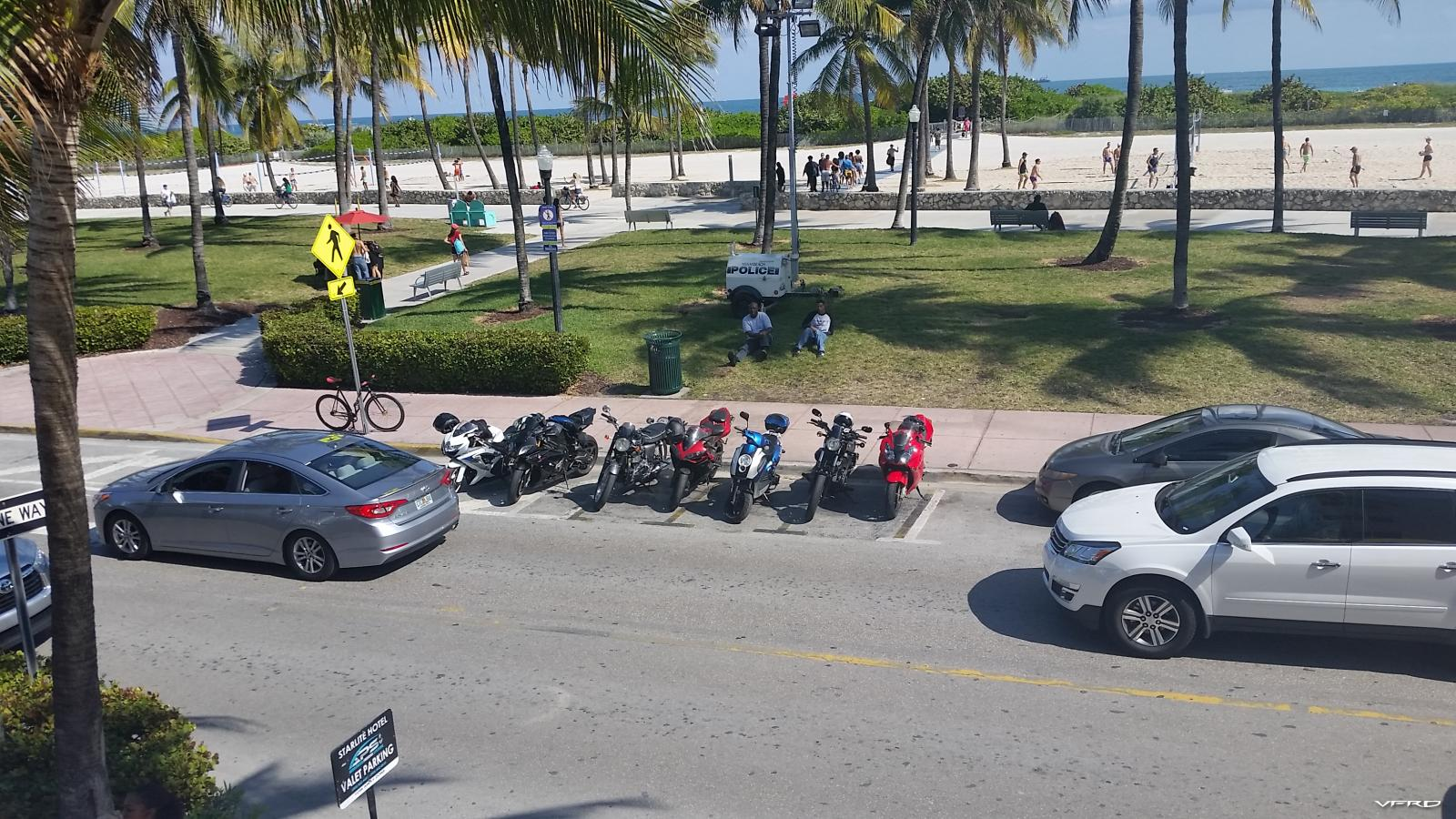 South Beach Sport Bikes
