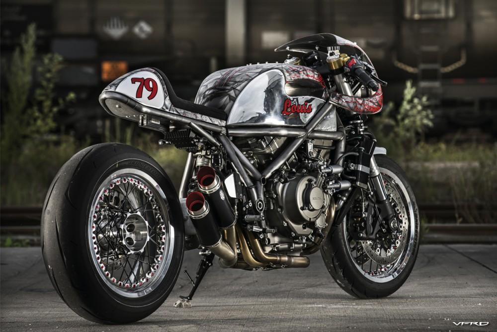Louis.de VFR1200 DCT / Lemmy Kilmister tribute bike