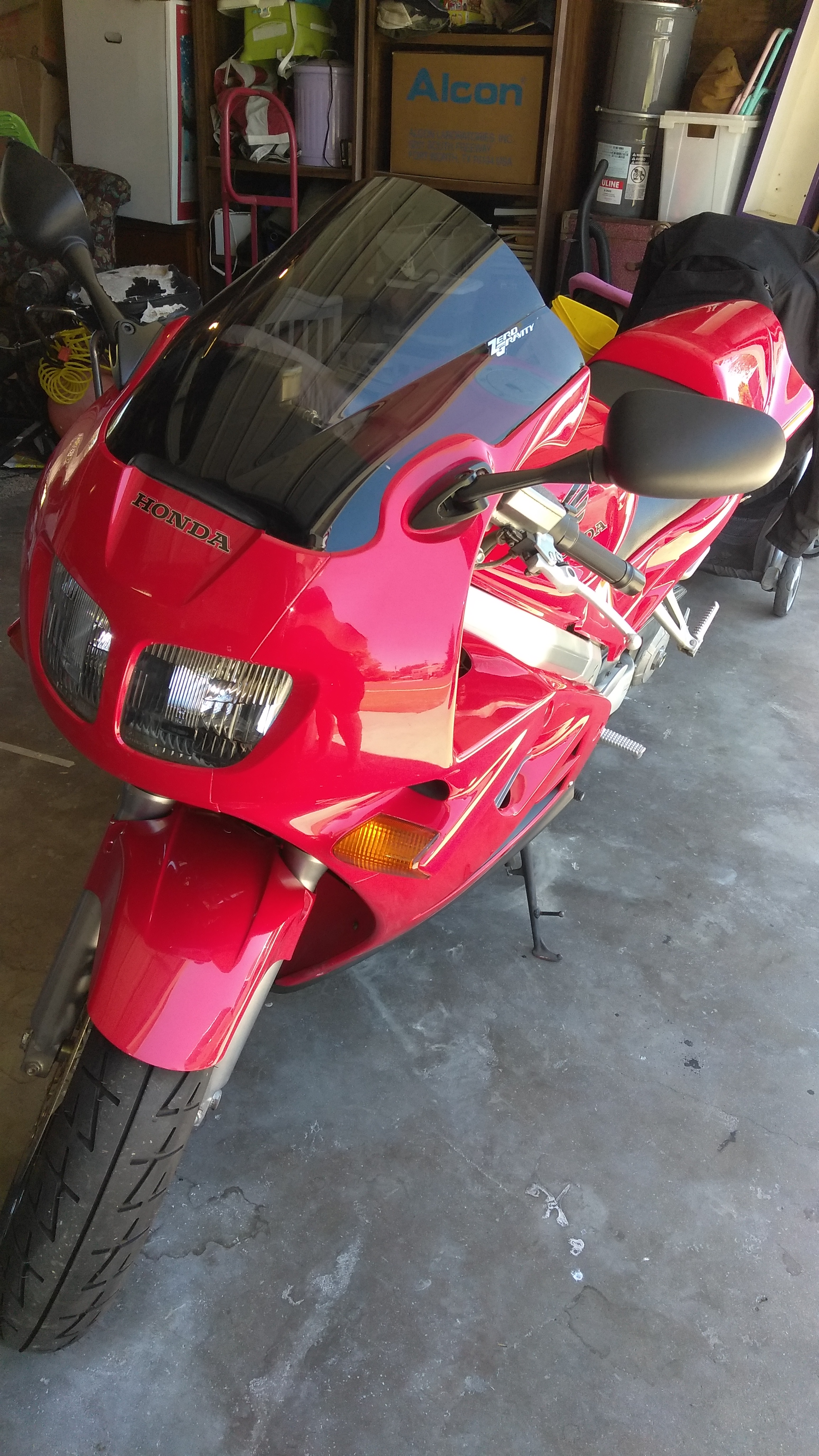 My 1995 VFR750F is surging & backfiring  - Third and Fourth