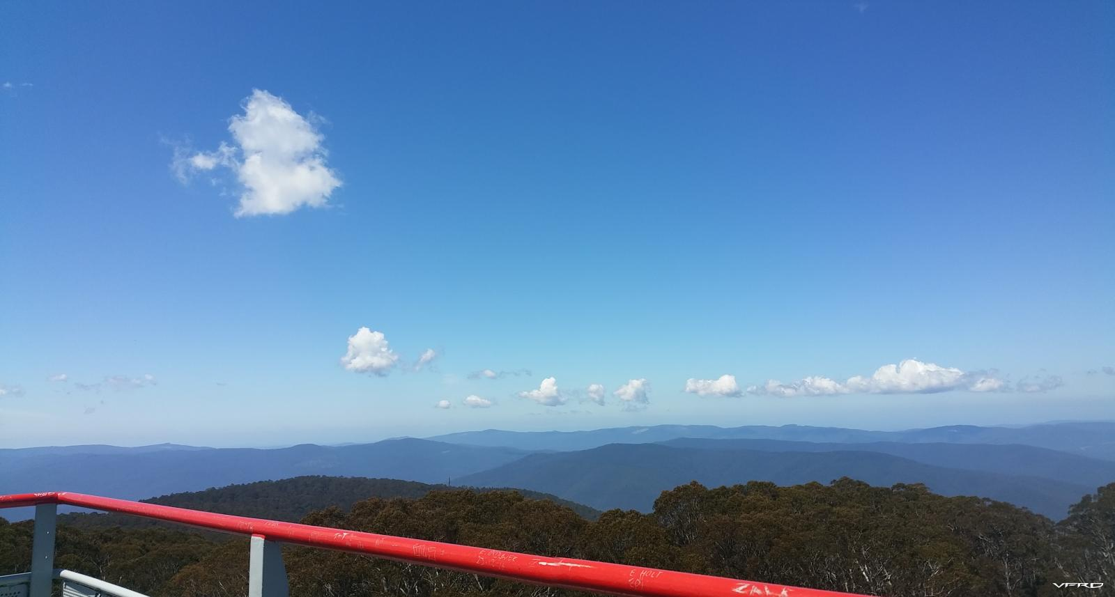 Mt Donna Buang Lookout