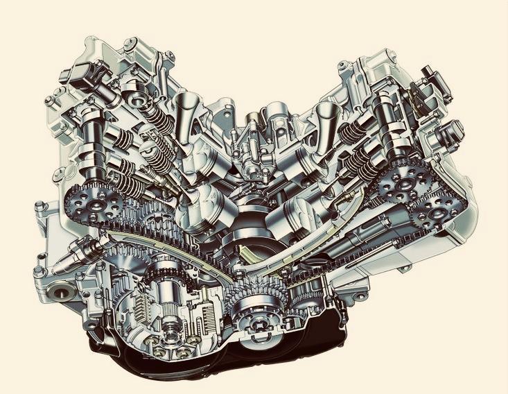 Cutaway 6th Gen Engine