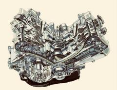 Cutaway 6th Gen Engine