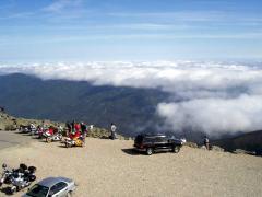 Atop Mt Washington