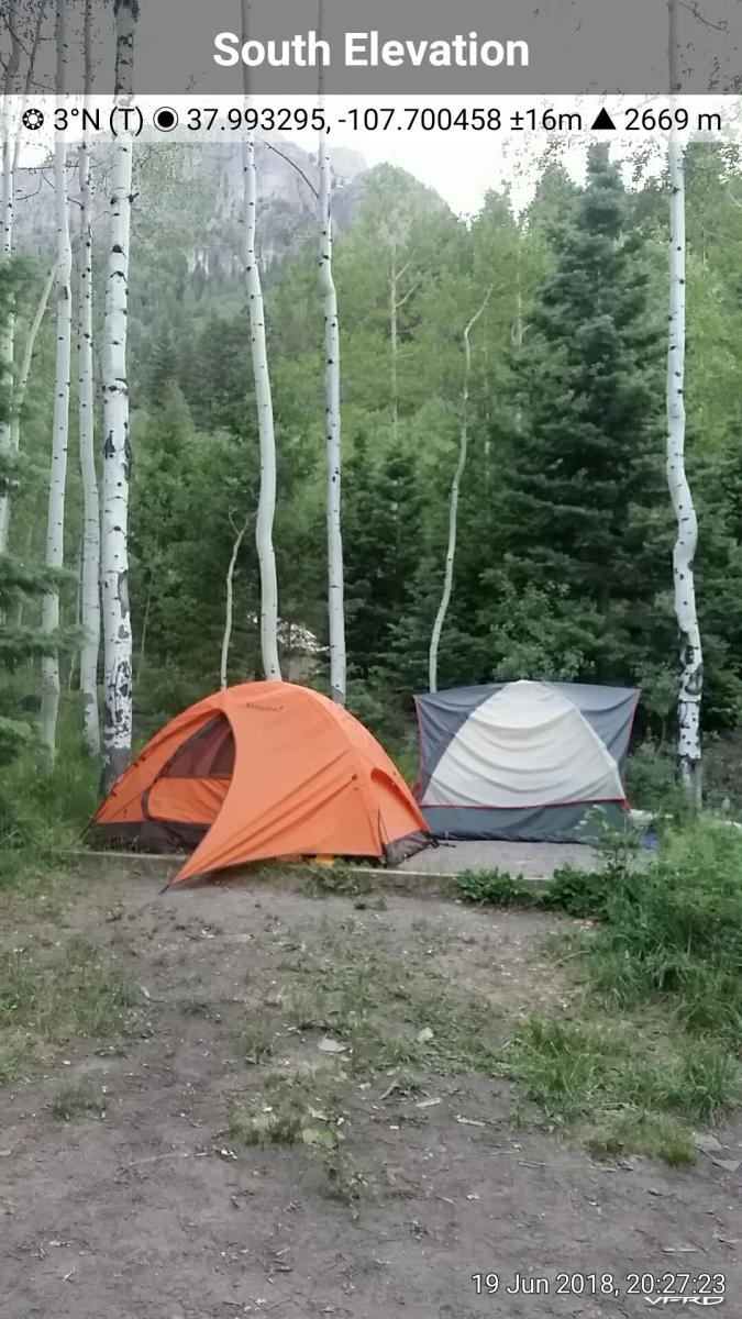 Thistledown Campground Ouray CO
