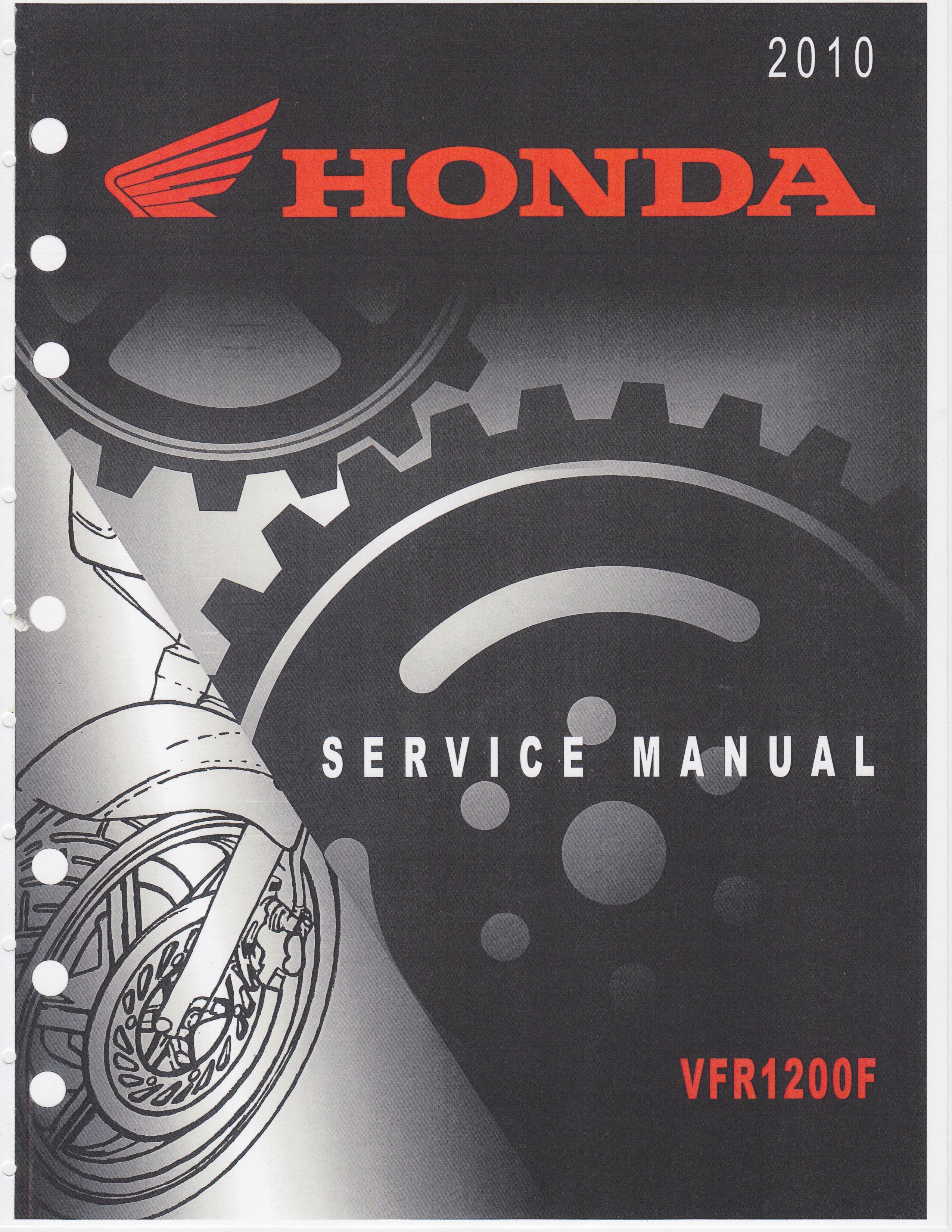 Honda 2017 VFR1200X Service Manual